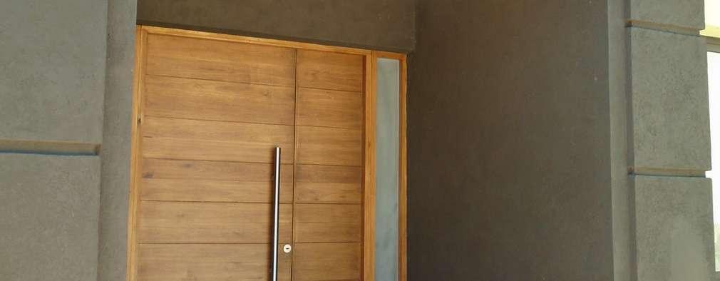Bienvenidos 10 puertas de madera muy modernas for Puertas principales modernas en madera