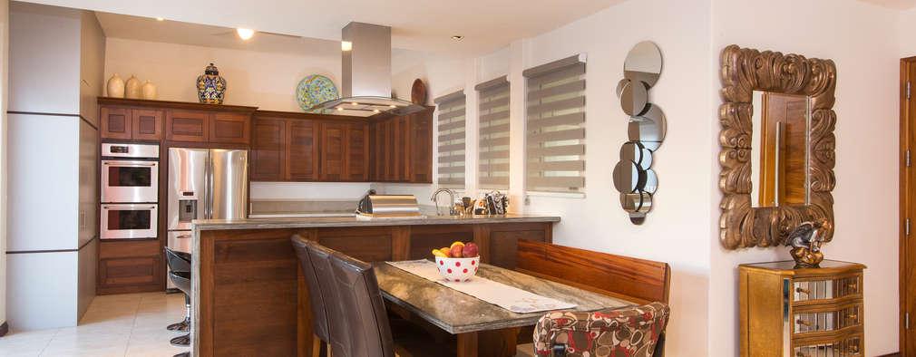 Cocina y comedor juntos 10 ideas para acomodarlos con for Casa con cocina y comedor juntos