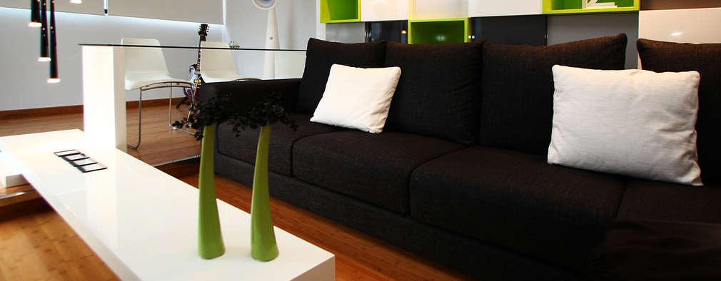 12 combinaciones de color para que tu salón sea moderno y con estilo
