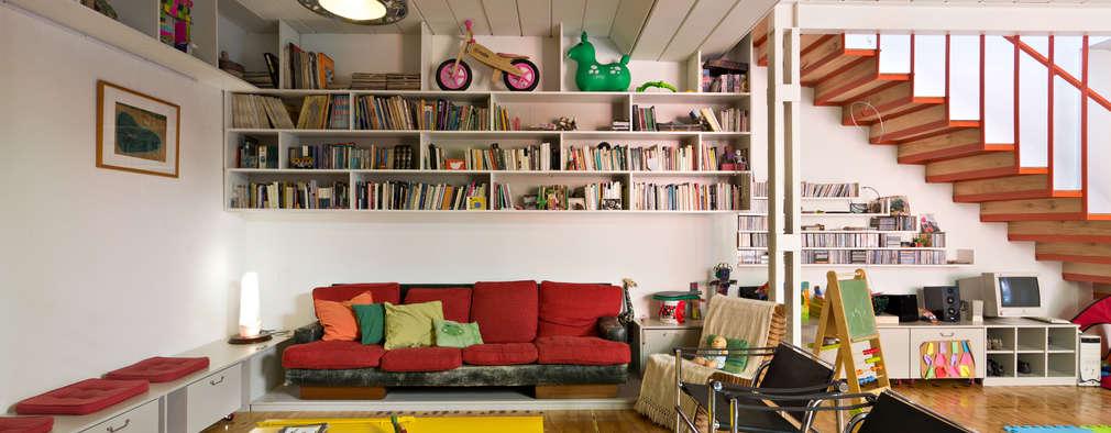 minimalistic Living room by Pop Arq