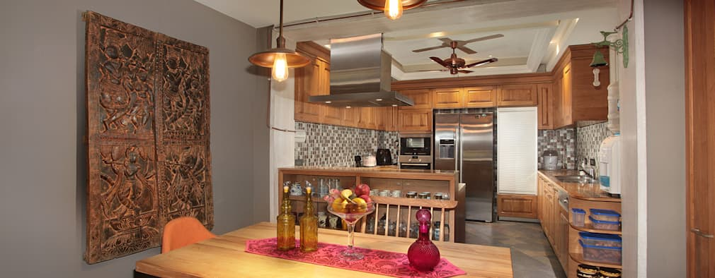 Cocinas de estilo moderno por DCA Architects
