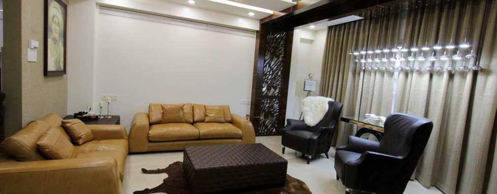 Living Room: modern Living room by Mind Studio