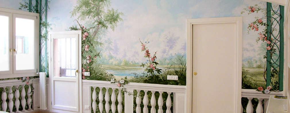 Trompe l 39 oeil cos 39 e come realizzarlo in casa for Carta da parati artistica