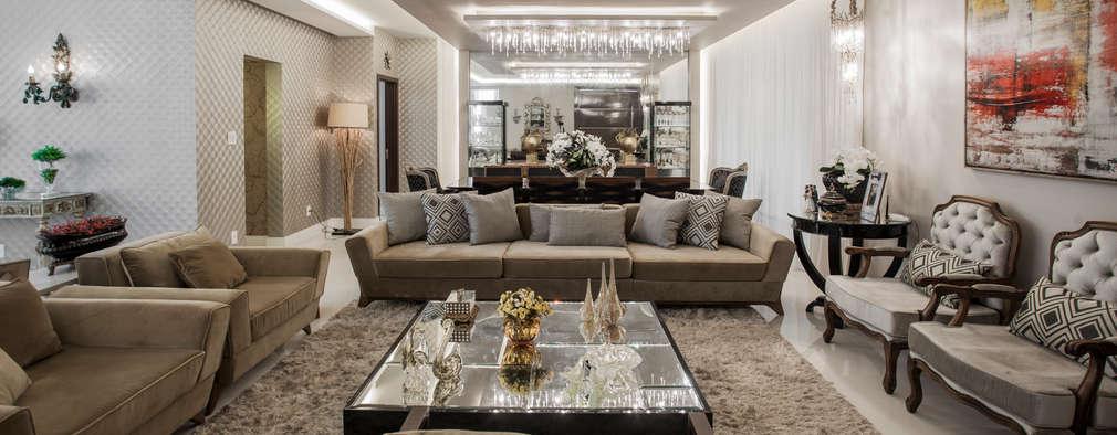 classic Living room by Heloisa Titan Arquitetura
