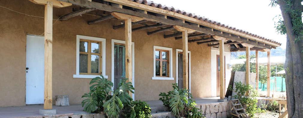 7 porches preciosos para casas peque as for Porches de casas pequenas