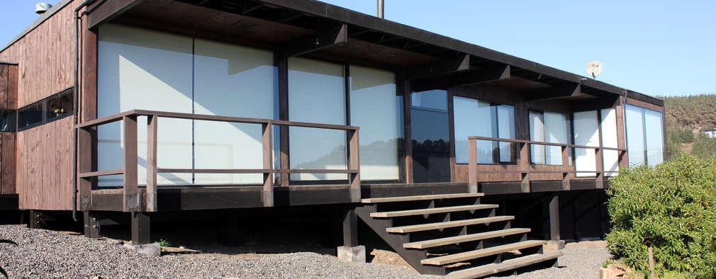 4 casas prefabricadas y econ micas disponibles s lo en chile for Construcciones minimalistas