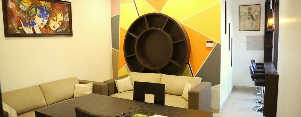 Oficinas de estilo moderno por Aayam Consultants