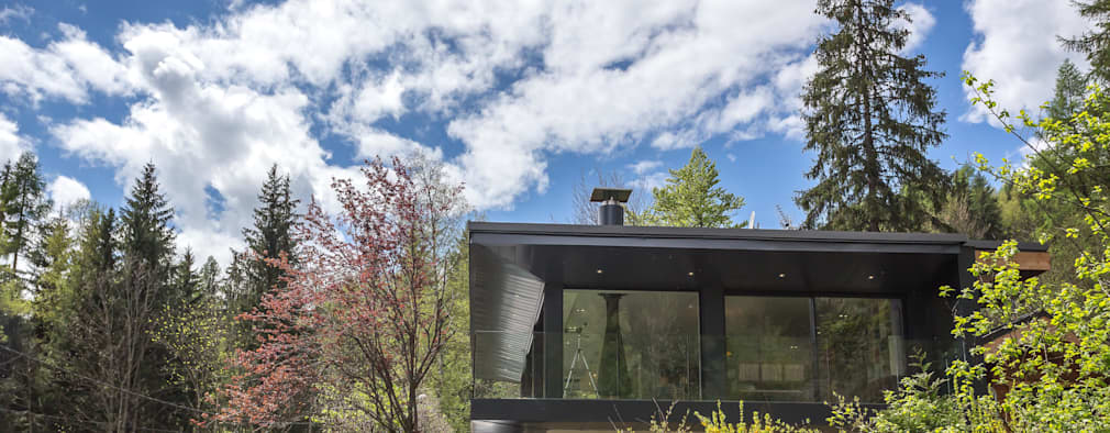 Projekty, nowoczesne Domy zaprojektowane przez Chevallier Architectes