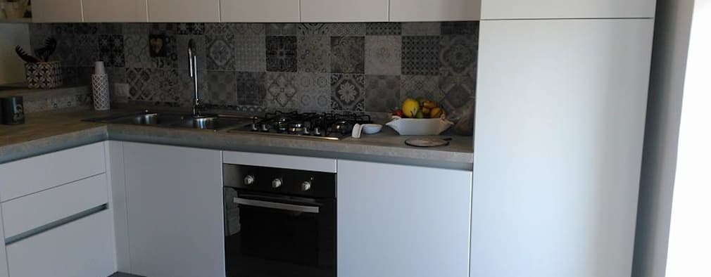 6 fotos de una cocina peque a y moderna para inspirarte a for Renovar cocina pequena