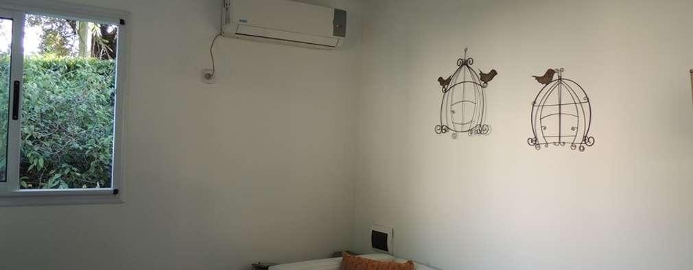 Salas de estilo moderno por Estudio ZP