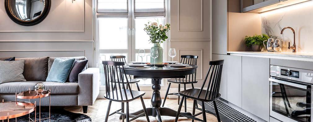 10 ideas para combina sala y comedor con estilo for Ideas para sala comedor