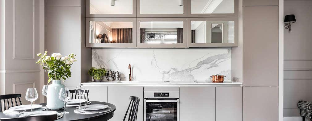 Mieszkanie w kamienicy: styl , w kategorii Kuchnia zaprojektowany przez SAS