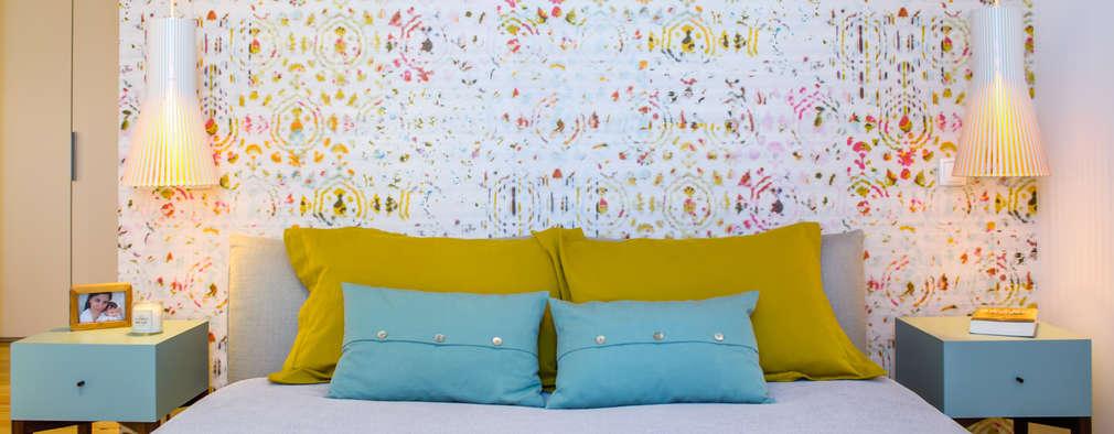 eclectic Bedroom by Espaço Mínimo