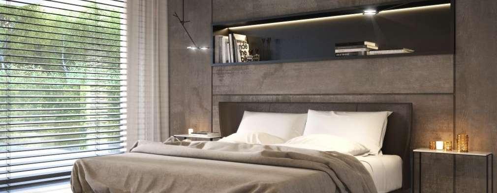 modern Bedroom by LK&Projekt GmbH