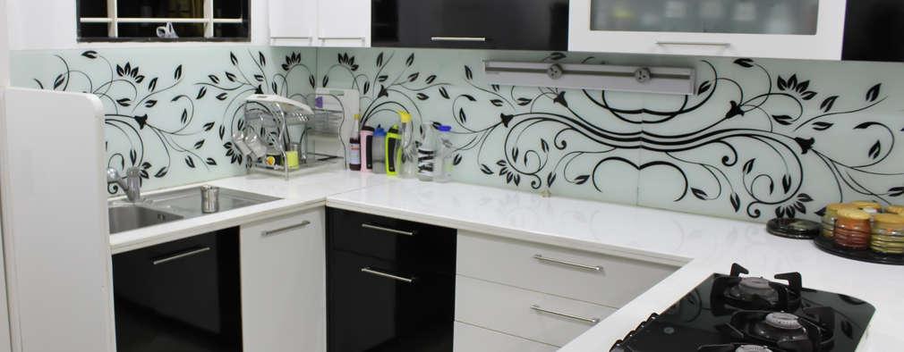 Projekty,  Kuchnia zaprojektowane przez Shadab Anwari & Associates.