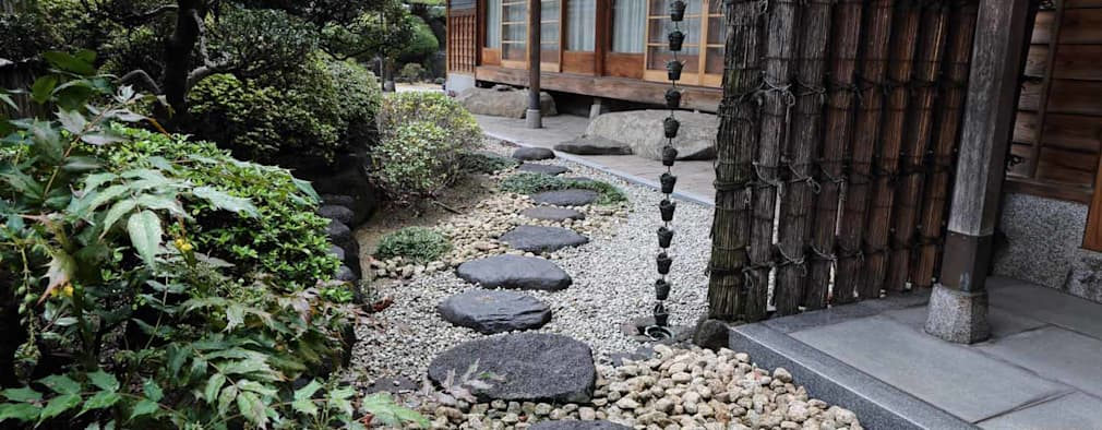 15 ideas fant sticas ideas para instalar piedra laja en el for Como decorar el patio con piedras