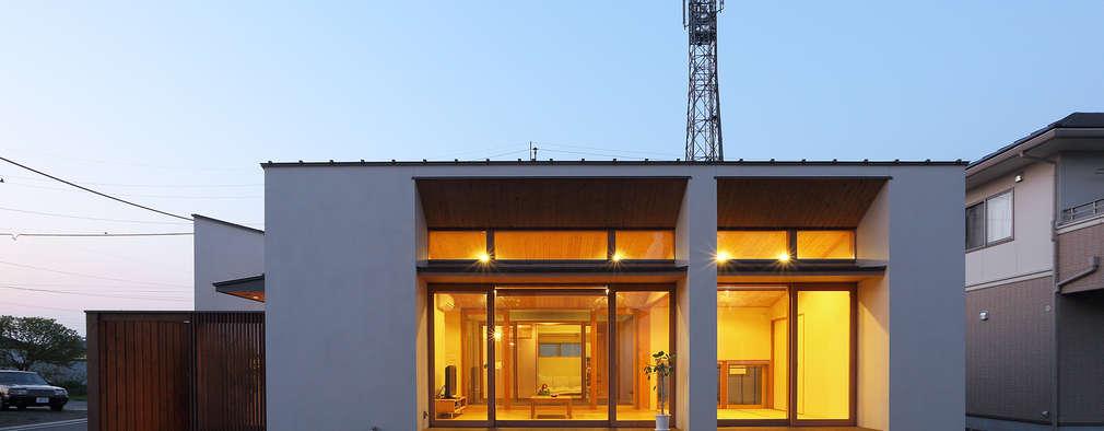 Projekty, eklektyczne Domy zaprojektowane przez ATELIER N