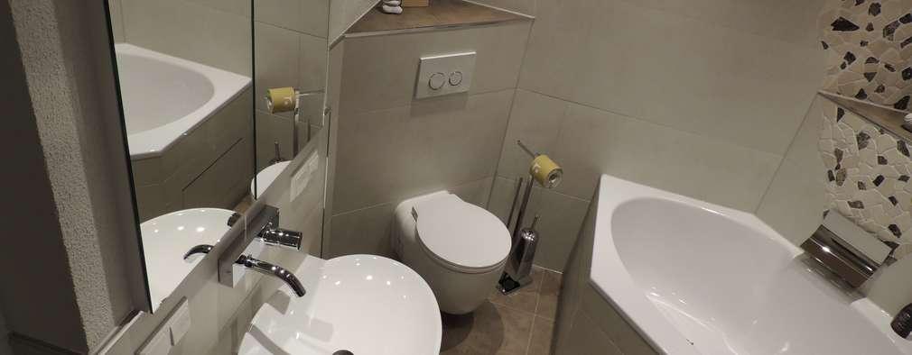 10 ba os ultra peque os que aprovechan espacio al m ximo for Banos en espacios pequenos