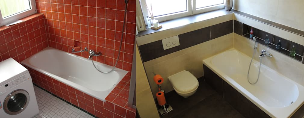 modern Bathroom by Bad Campioni