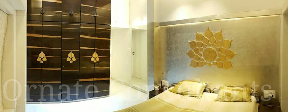 Master bedroom: modern Bedroom by Ornate Consultants