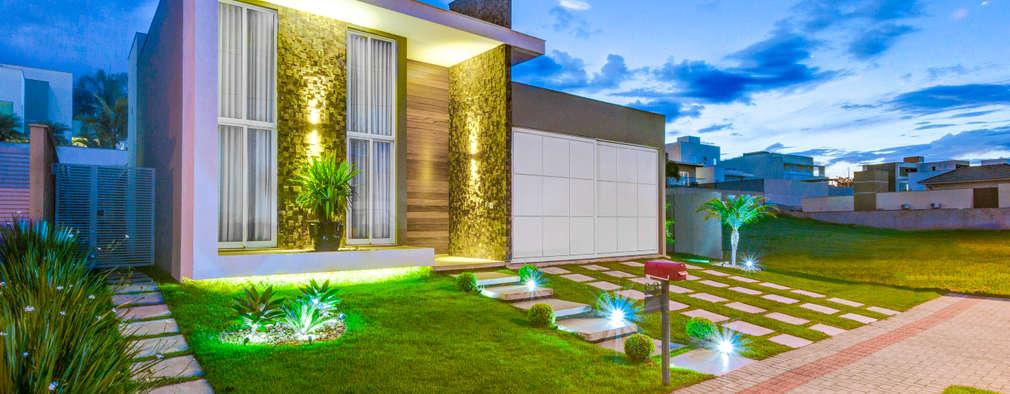 Residência T.C: Casas modernas por Zani.arquitetura