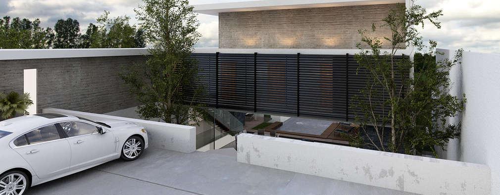 AParquitectos: modern tarz Evler