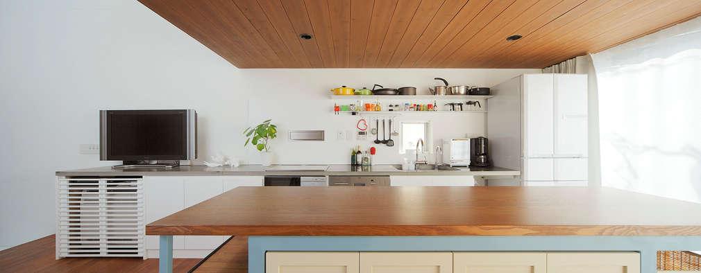 ห้องครัว by こぢこぢ一級建築士事務所