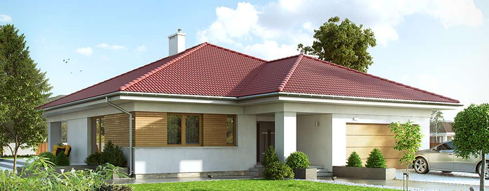 Un casa de una sola planta peque a y familiar for Casas de una sola planta