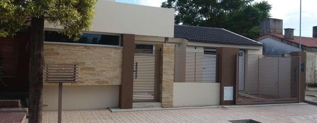 20 casas modernas que voc deve ver antes de construir a sua for Ver frentes de casas modernas