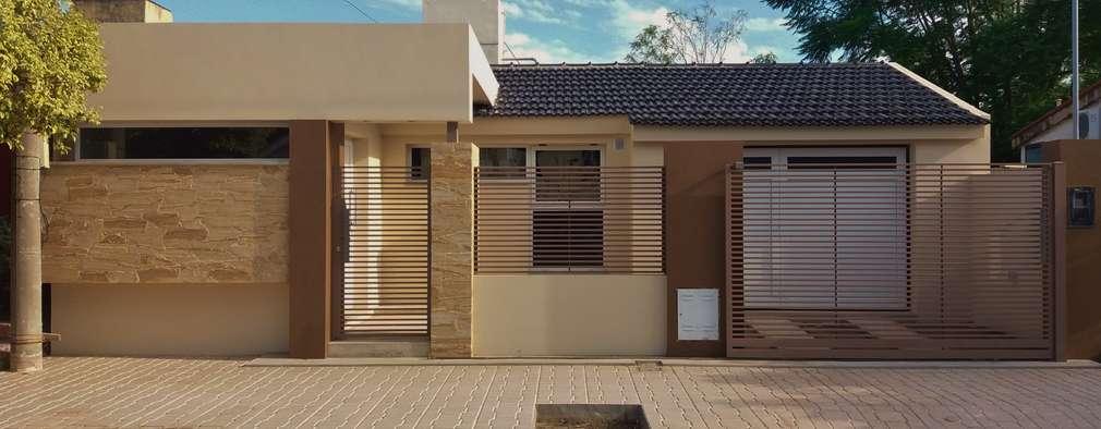 27 frentes de casas modernas e arrasadoras for Frentes de casas modernas