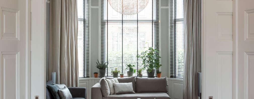 Karakteristiek herenhuis met gedurfde inrichting for Interieur kleuren woonkamer