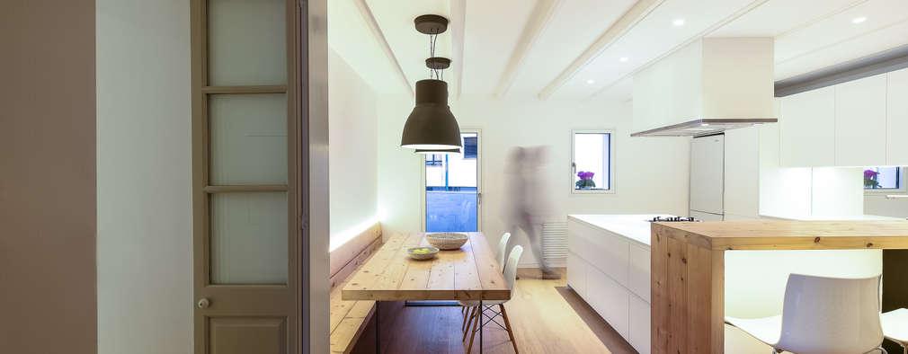 Aina Deyà _ architecture & design: iskandinav tarz tarz Yemek Odası
