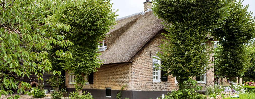 Restauratie Boerderij: rustieke & brocante Huizen door Brand BBA I BBA Architecten