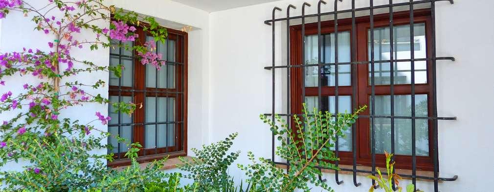 Rejas para tu ventana 20 ideas geniales que te encantar n for Cortinas para balcones exteriores