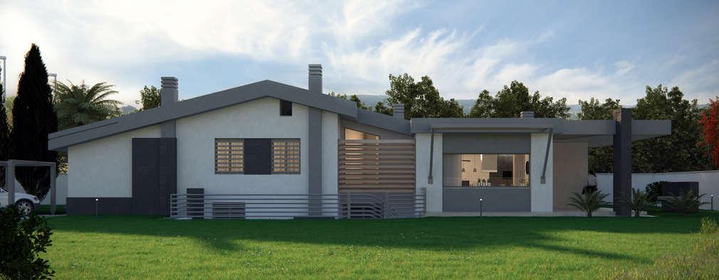 منازل تنفيذ Realistic Art Render