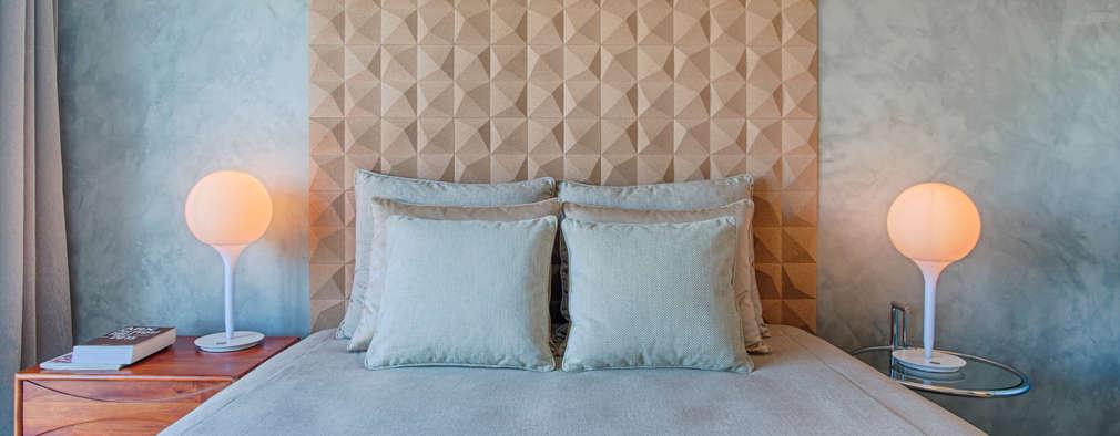 غرفة نوم تنفيذ Santiago | Interior Design Studio