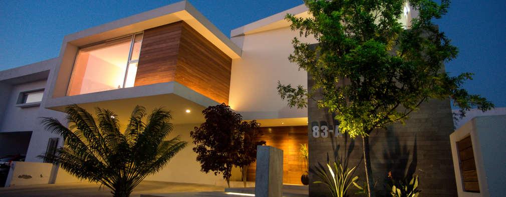 Casas de estilo moderno por AParquitectos