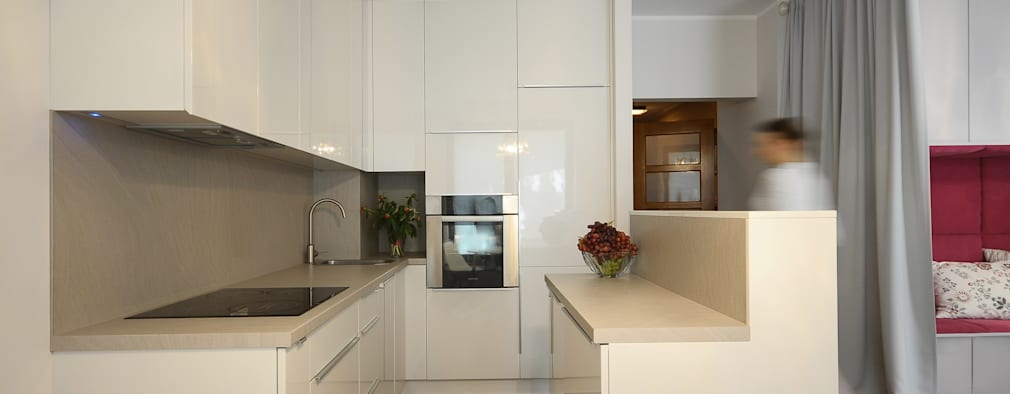 Un mini appartamento piccolo ma molto intelligente - Cucine per miniappartamenti ...