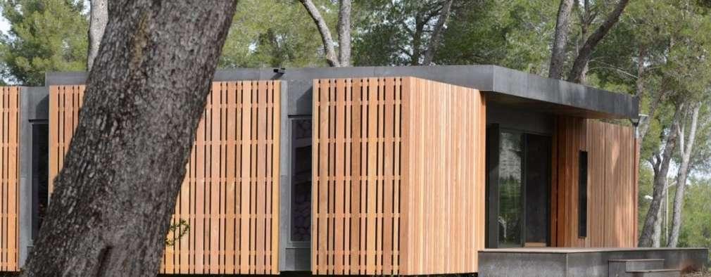 SARGRUP İNŞAAT VE ENERJİ LTD.ŞTİ. – Fibercement paneller: minimal tarz tarz Evler
