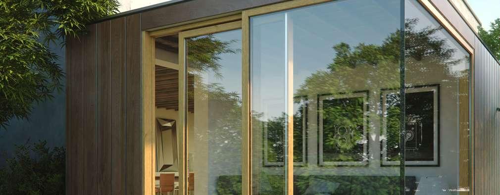 Projekty,  Salon zaprojektowane przez Qr legno srl