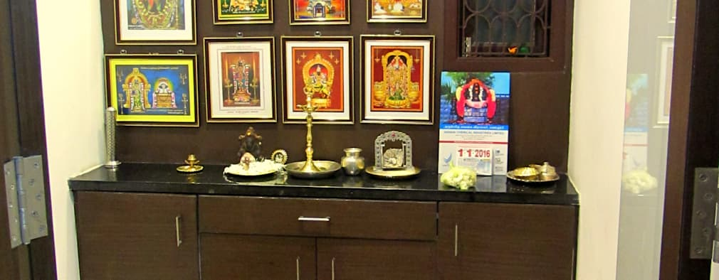 7 Pooja Rooms dedicated to 7 different Gods