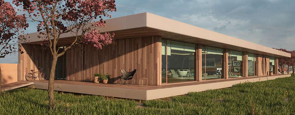 Maisons de style de style Moderne par Matos Architects