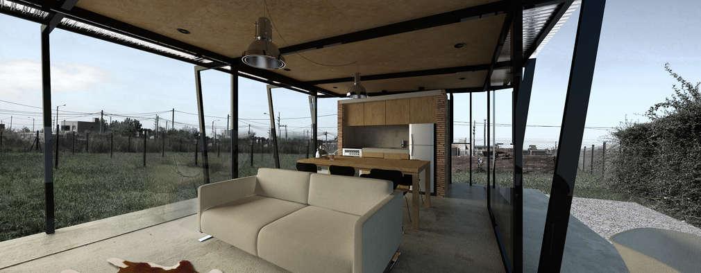 Projekty,  Salon zaprojektowane przez CUMPA