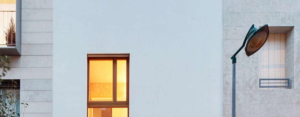 minimalistische Huizen door Vallribera Arquitectes