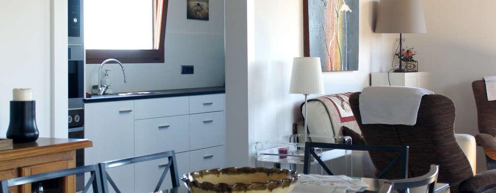 RIBA MASSANELL S.L.: akdeniz tarzı tarz Yemek Odası
