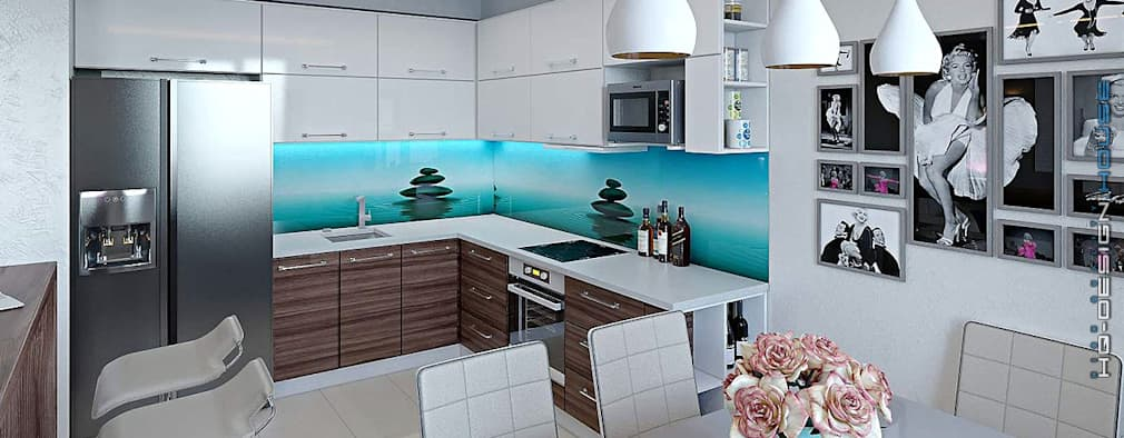 مطبخ تنفيذ hq-design
