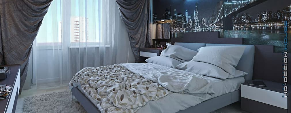 modern Bedroom by hq-design