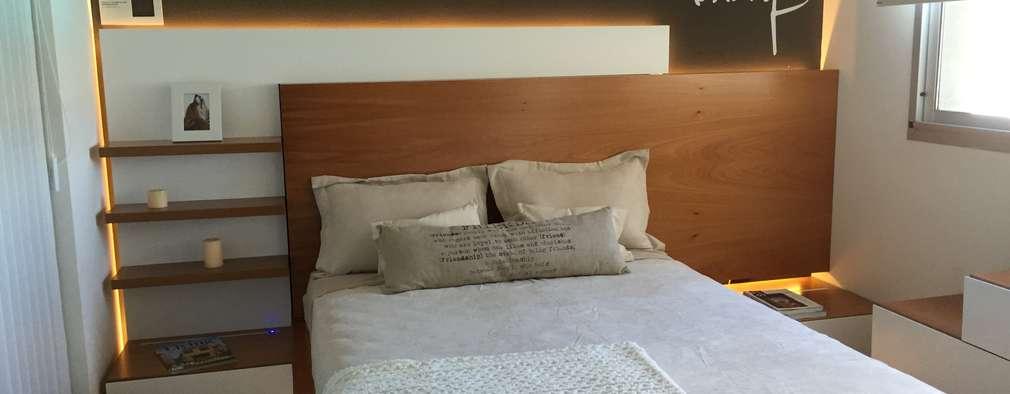 minimalistische Slaapkamer door MODULUS