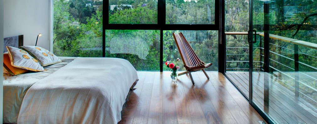 Спальни в . Автор – RIMA Arquitectura