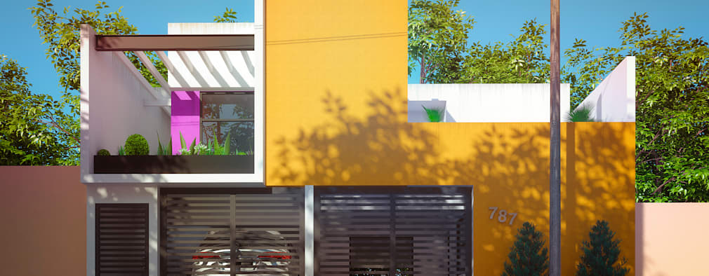 N o acreditar no antes e depois destas fachadas for Colores de moda para fachadas
